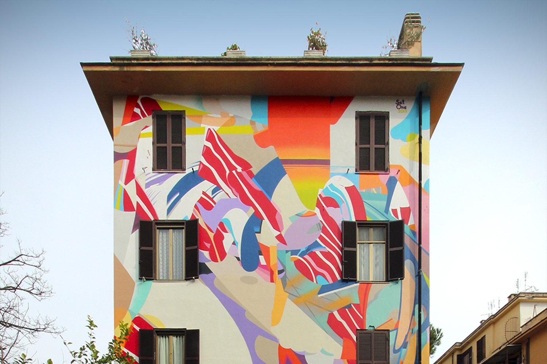 satone murales roma