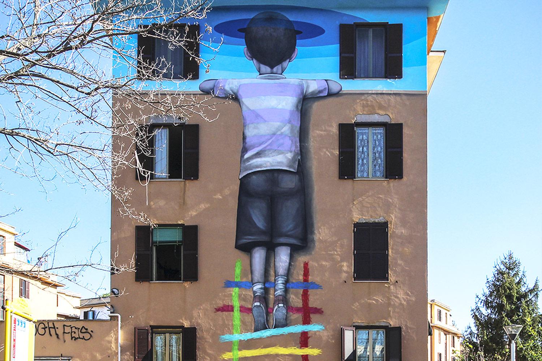 seth murales roma street art