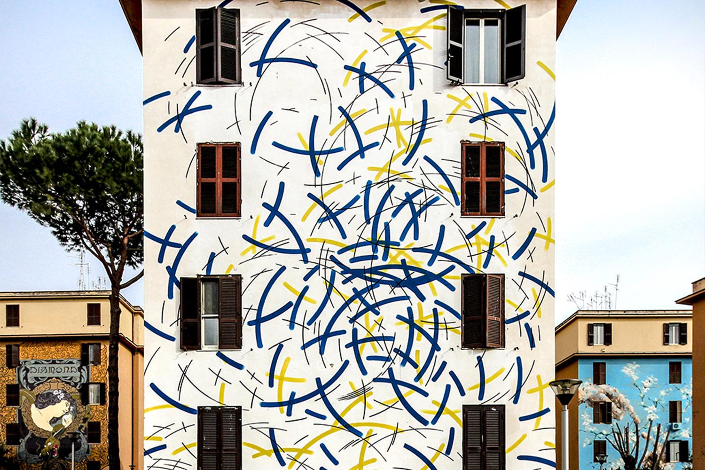 moneyless street art roma