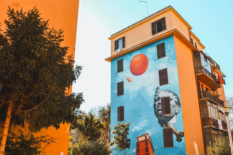 Tor Marancia murales