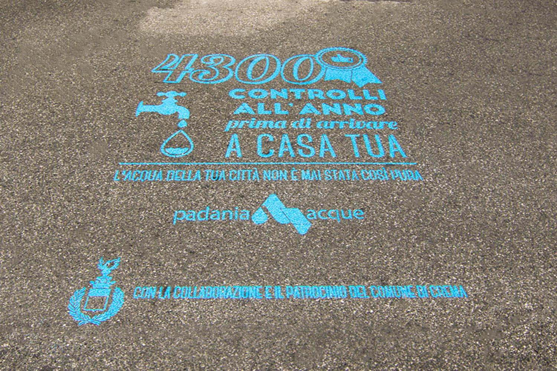 GreenGraffiti Padania Acque municipalità