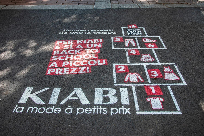 campagna pubblicitaria Kiabi