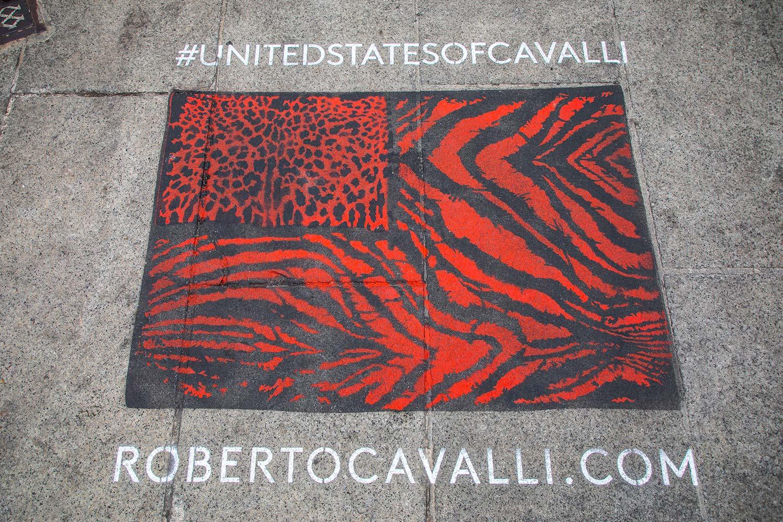 campagna pubblicitaria Roberto Cavalli