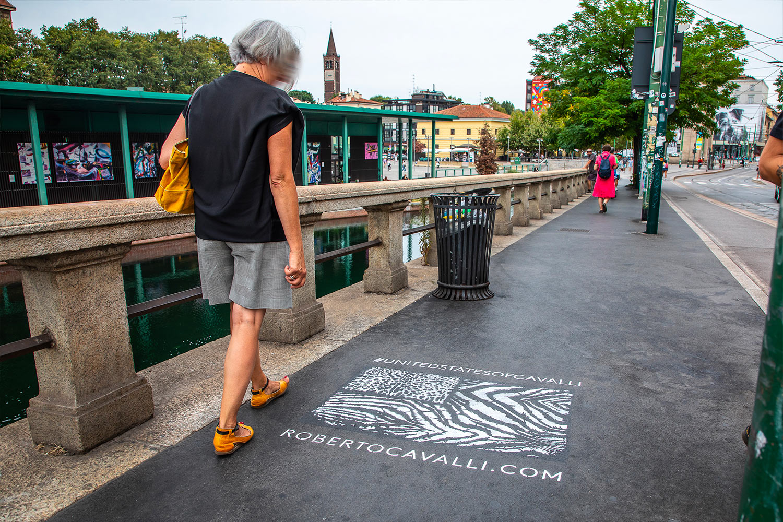Roberto Cavalli greengraffiti