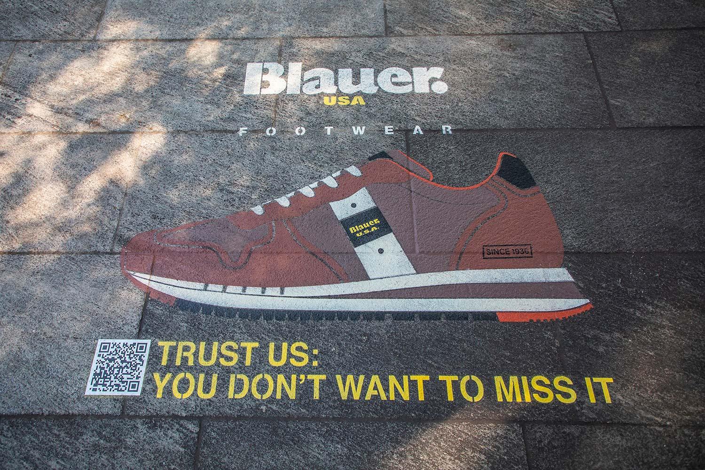 campagna pubblicitaria Blauer