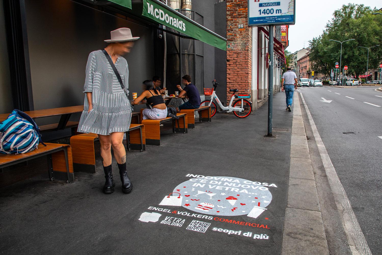 street marketing Engel & Völkers