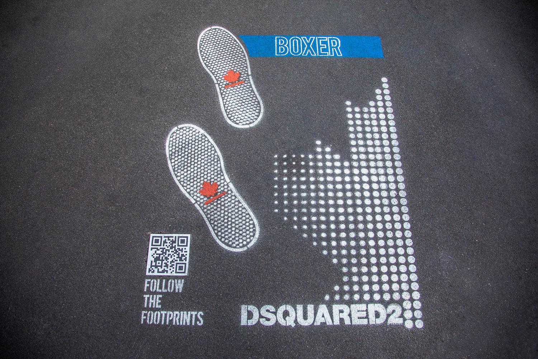 campagna pubblicitaria Dsquared2