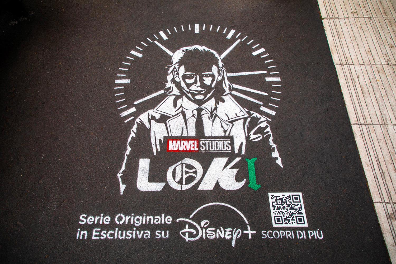 GreenGraffiti Loki