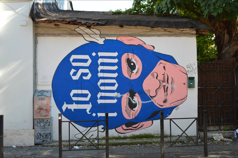 Omino71 Roma Murales