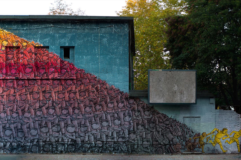 BLU Roma Murales