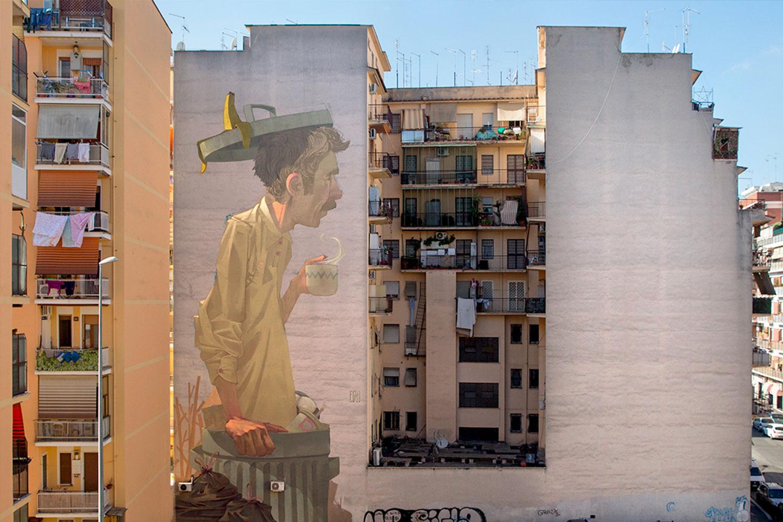 Etam cru Roma Murales
