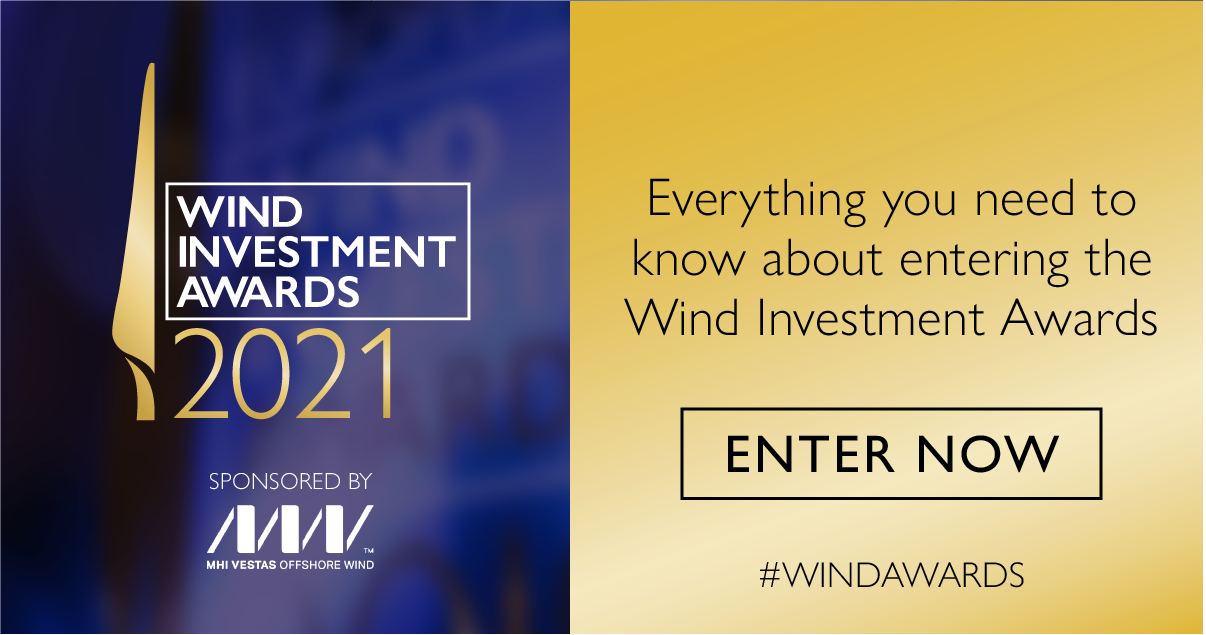 Everything you need to know about entering the Wind Investment Awards