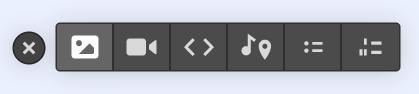 Rich Text Block add image screenshot