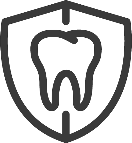 tooth guard icon