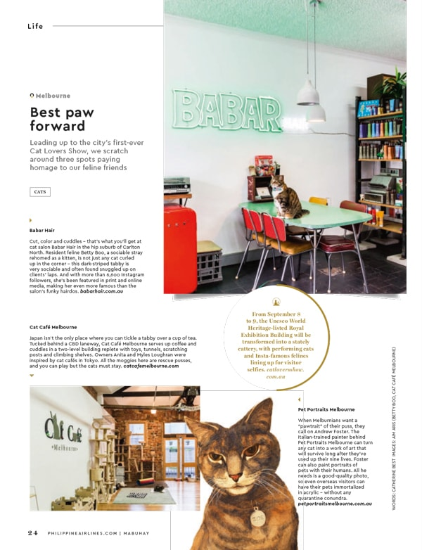Mabuhay Magazine Feature