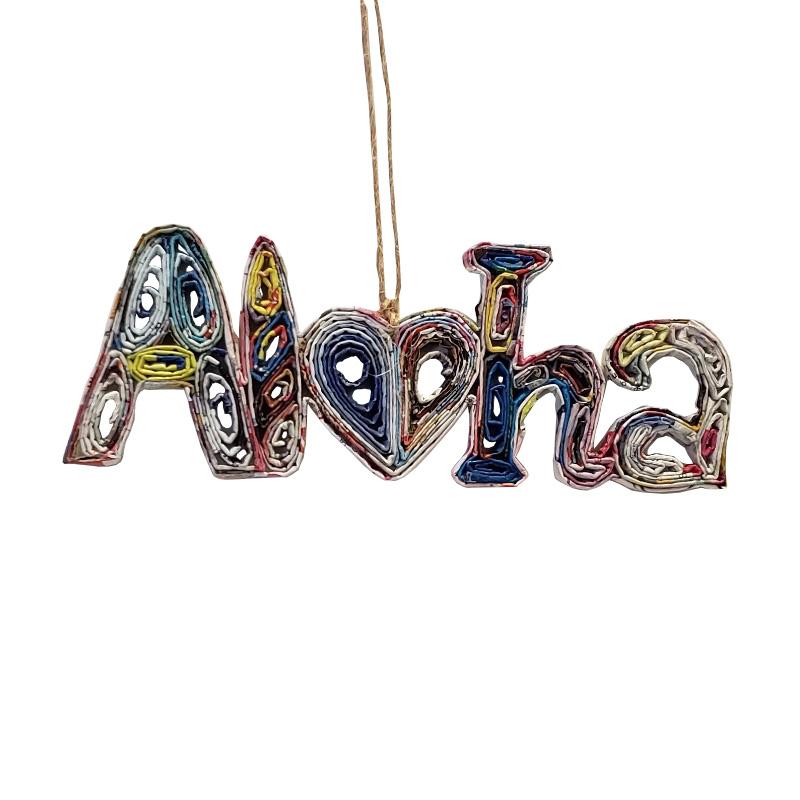 Aloha Ornament