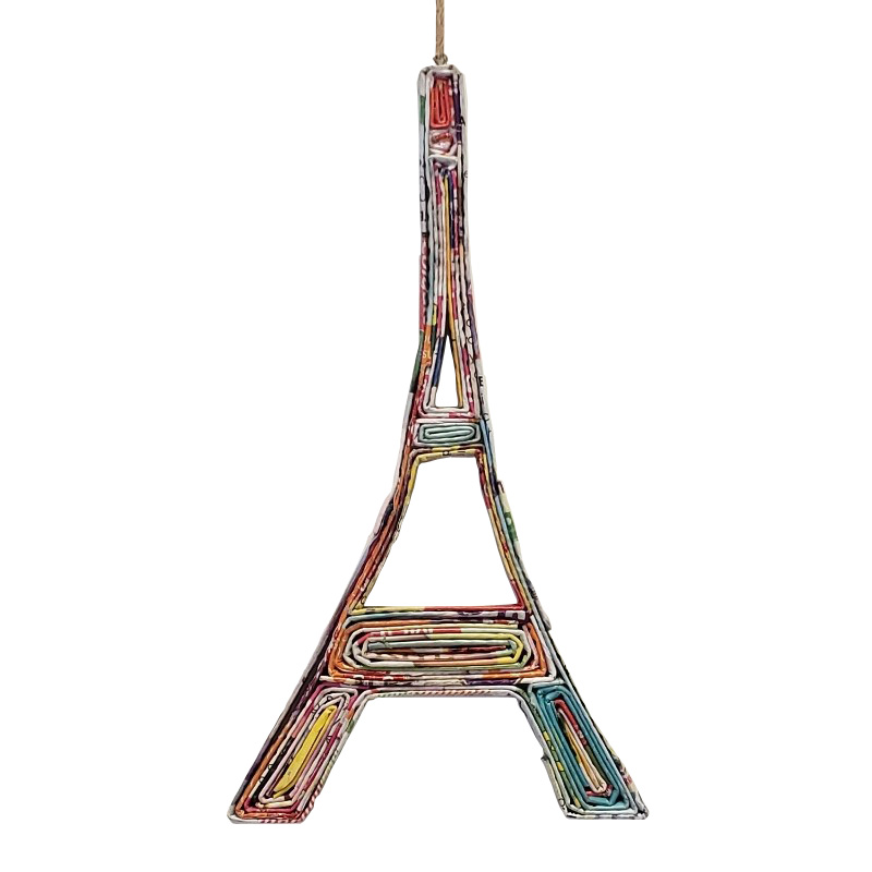 Eiffel Tower Ornament - Style 2
