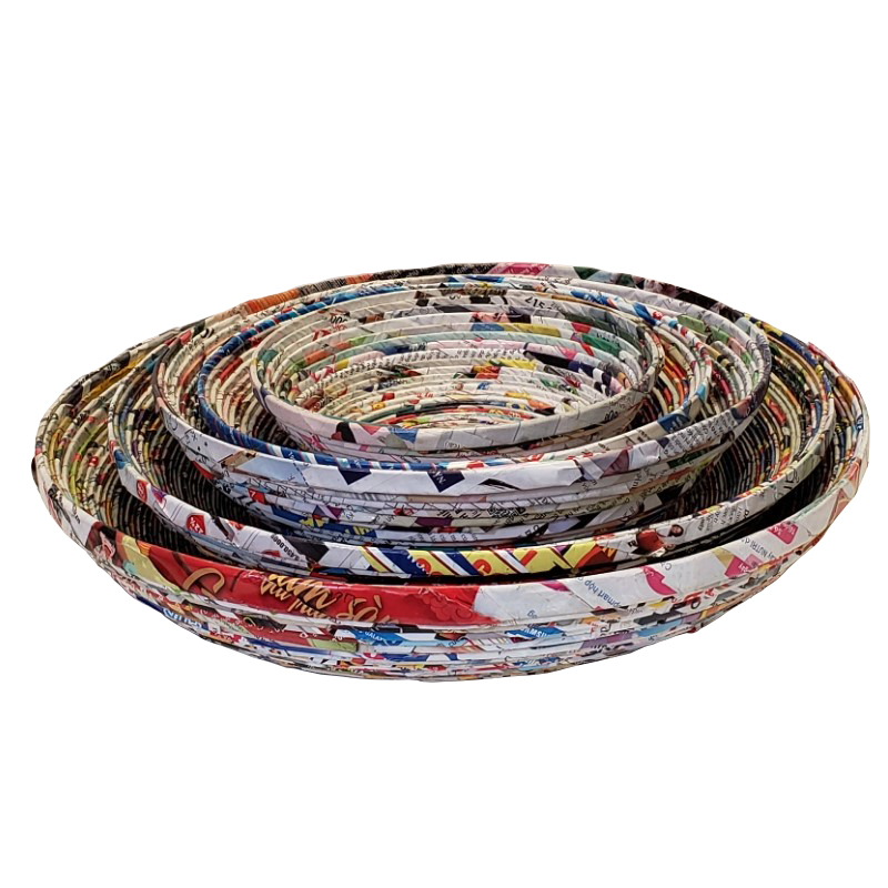 Paper Bowl - Set of 5