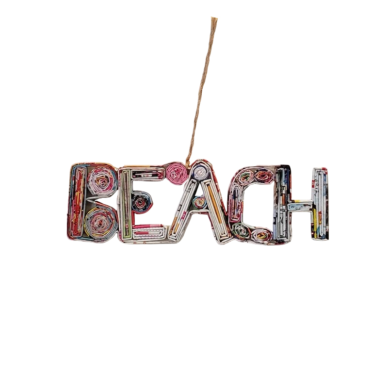 Beach Ornament - Color