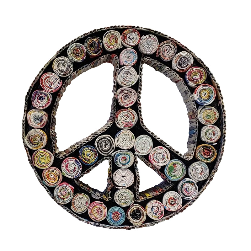 Peace Sign Figure