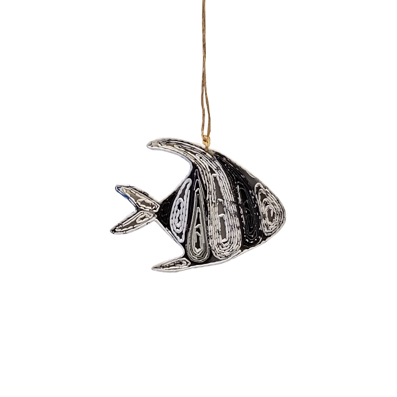 Angel Fish Ornament - Small