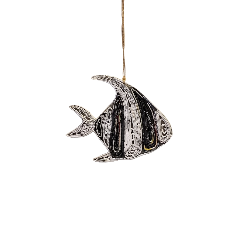 Angel Fish Ornament - Large