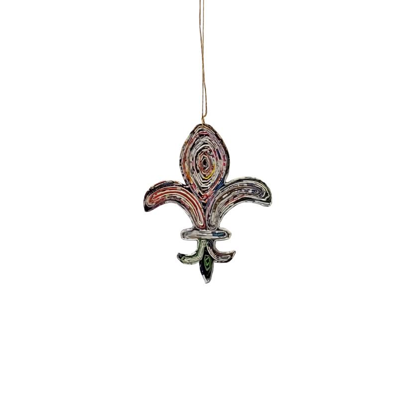 Fleur De Lis Ornament - Large