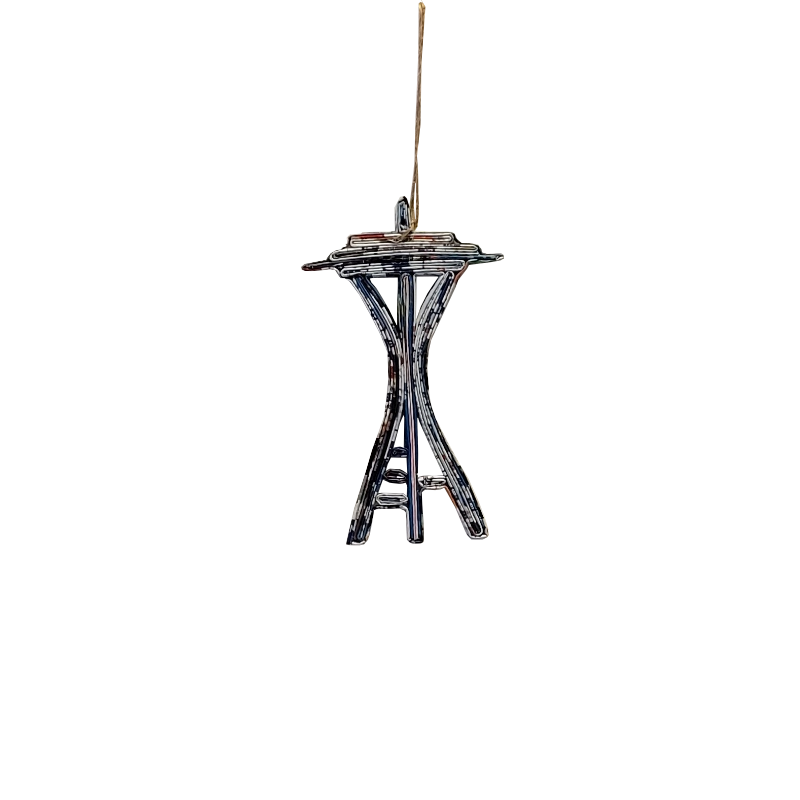 Space Needle Ornament - Small