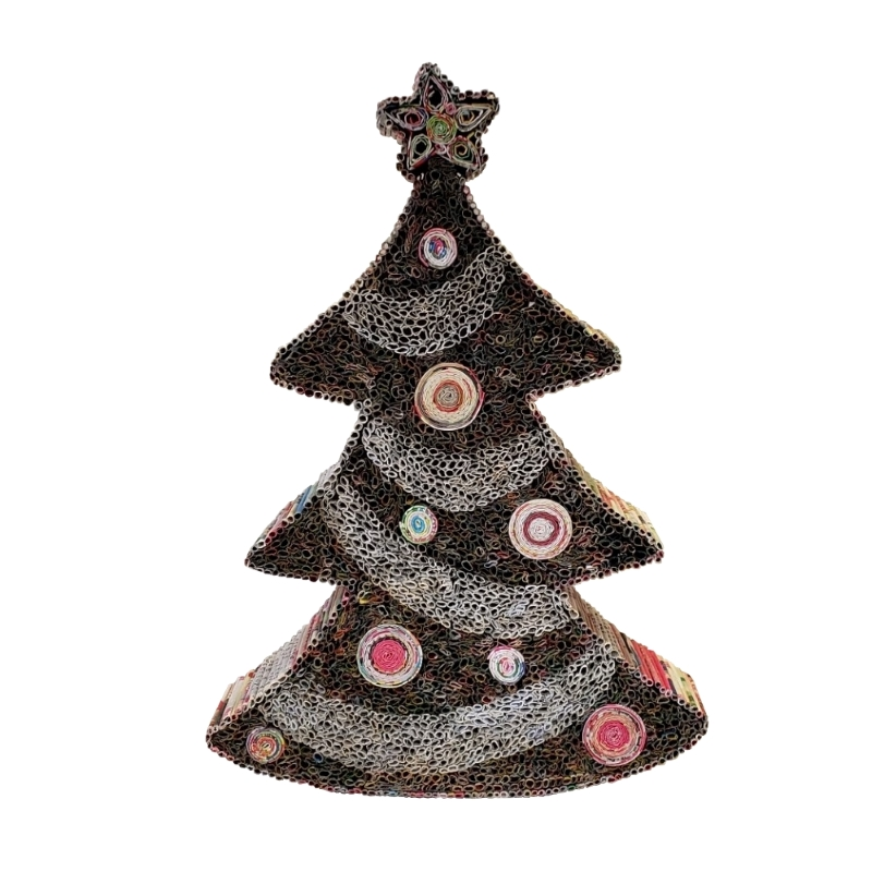 Striped Christmas Tree - Small