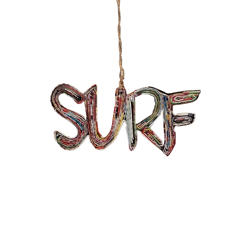 Surf Ornament