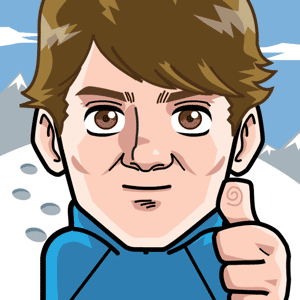 Avatar: Shows a team member in comic style