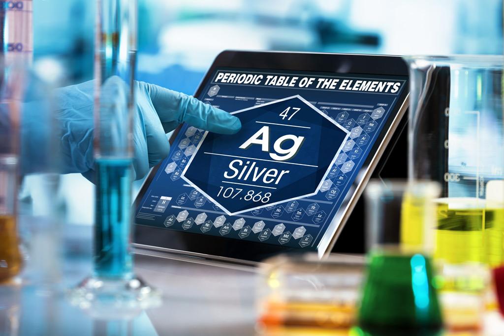 antiviral silver