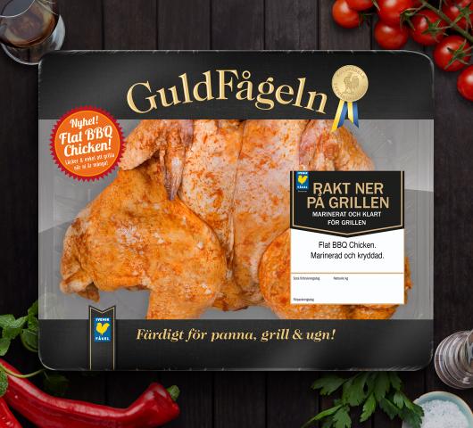 Flat BBQ-Chicken