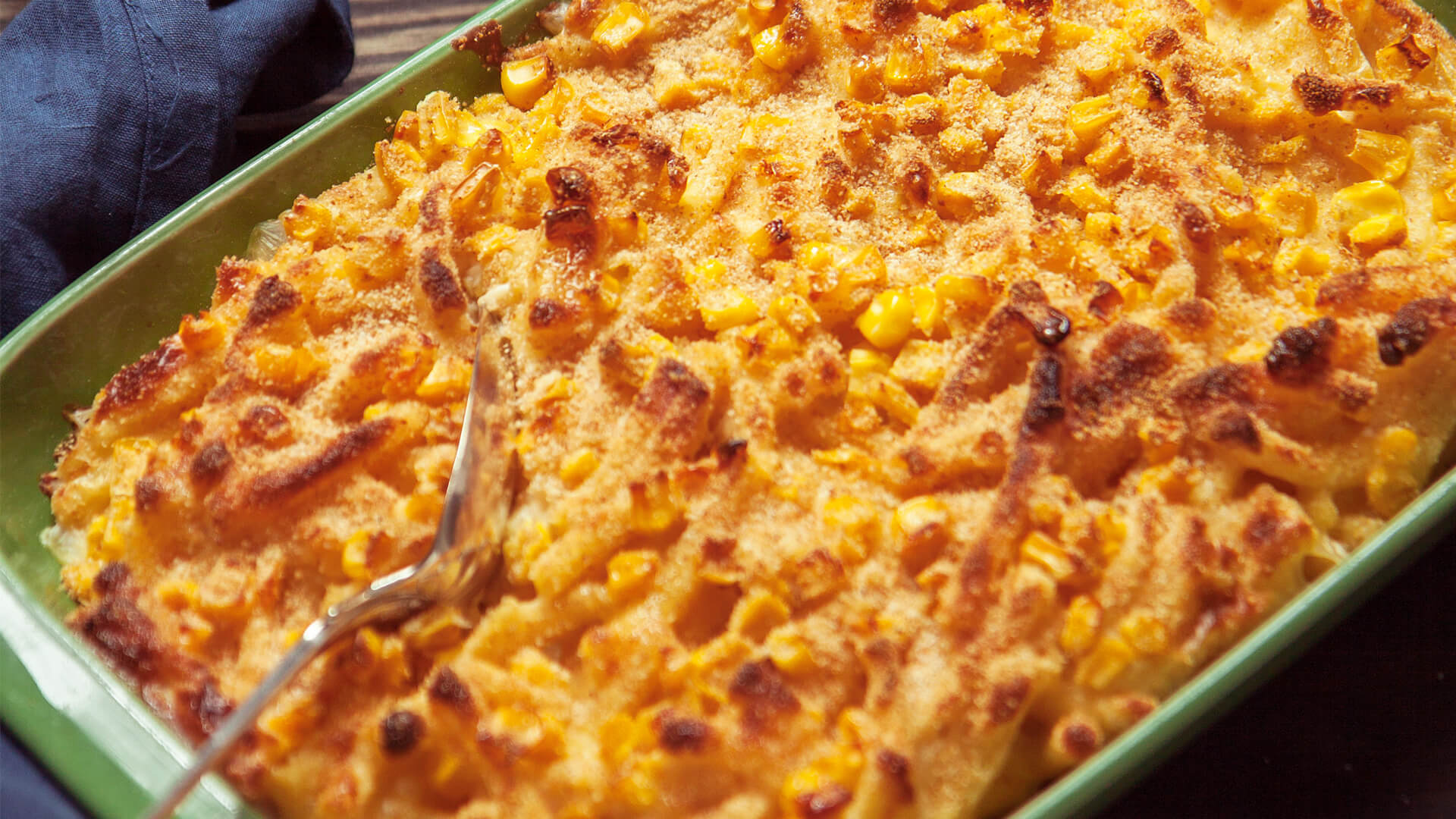 Sweet Corn Mac N' Cheese