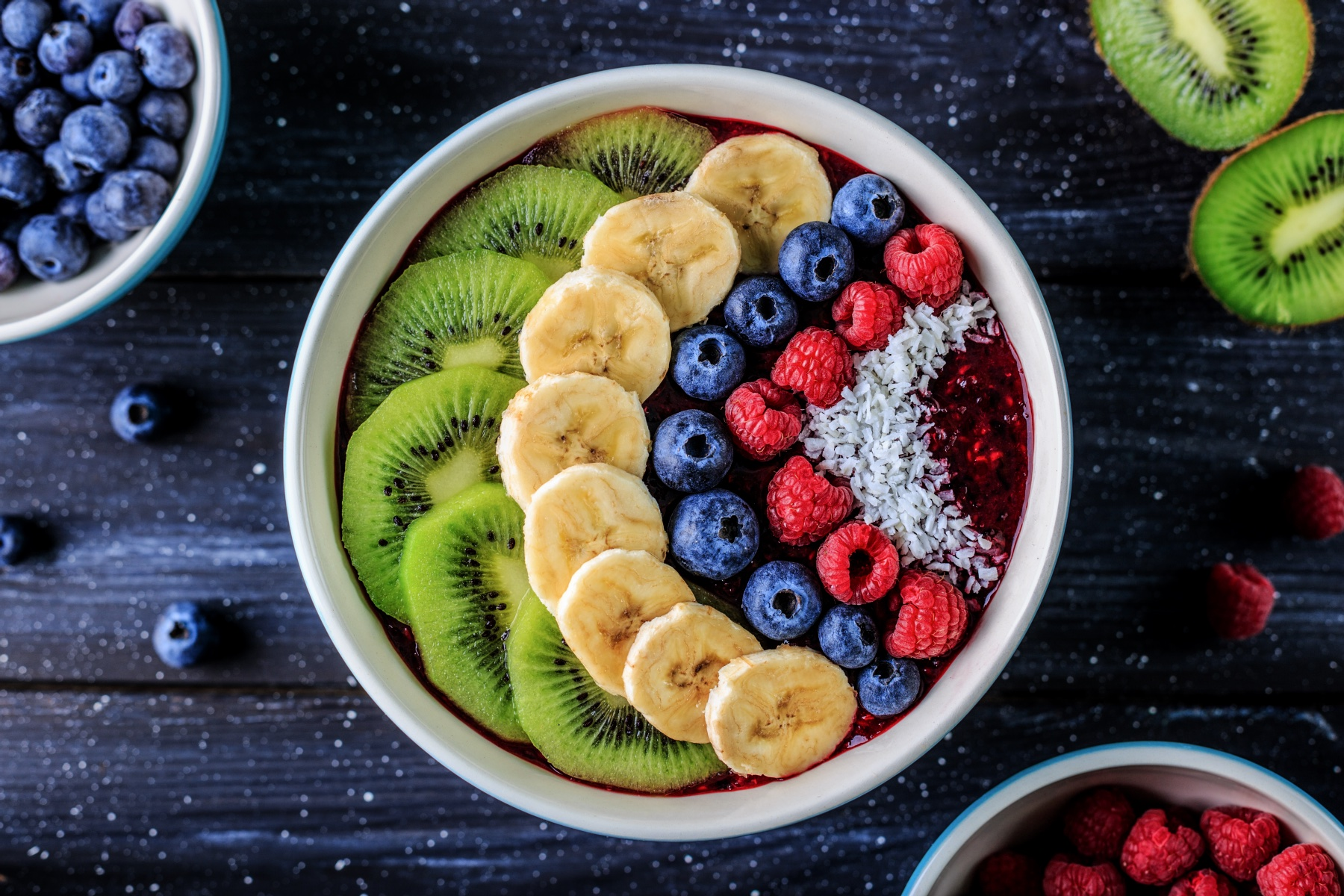 acai fruit bowl at the spot in the outer banks north carolina
