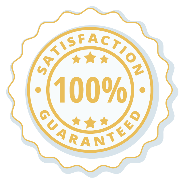 Lucas Special Services offer a 100% Satisfaction Guarantee