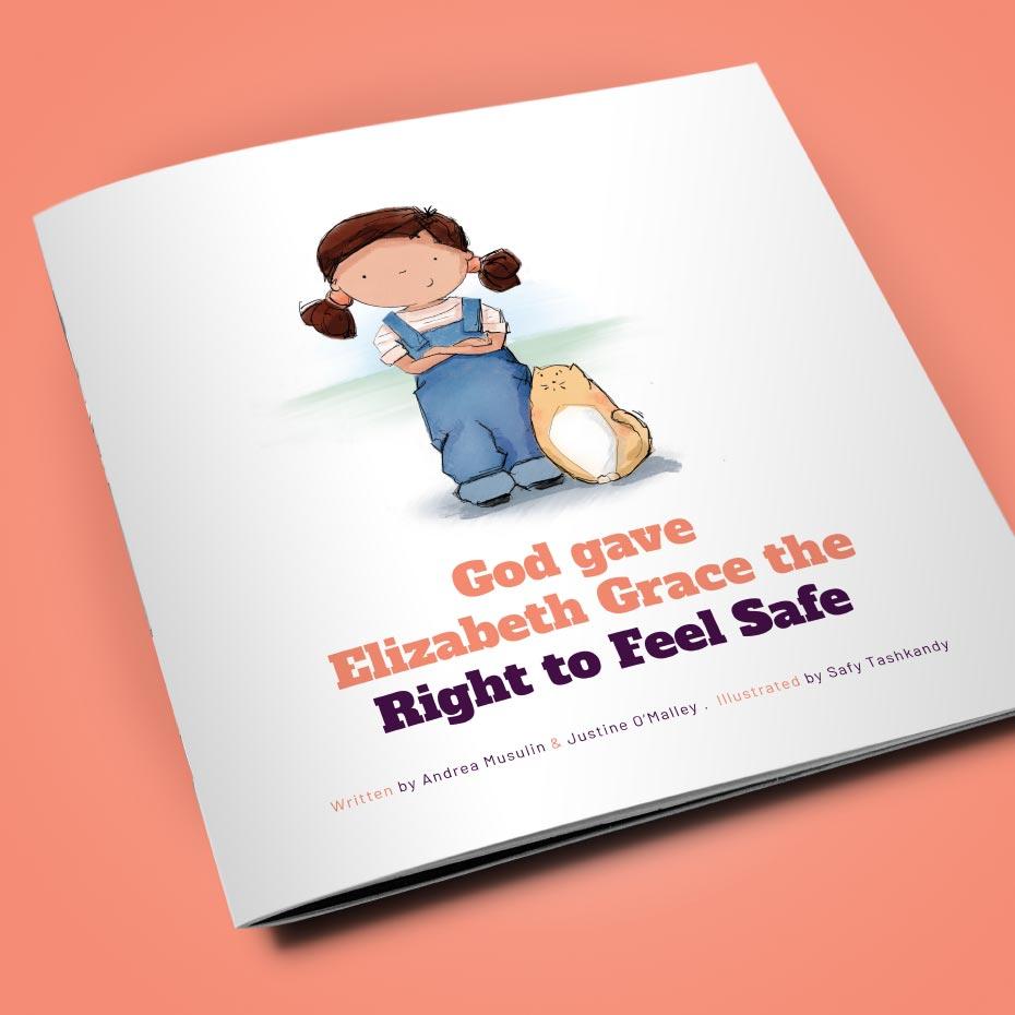 'Elizabeth Grace' Illustrated Children's Book - Cover
