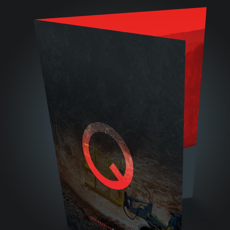 Brand Design Project for Quattro - Display Folder