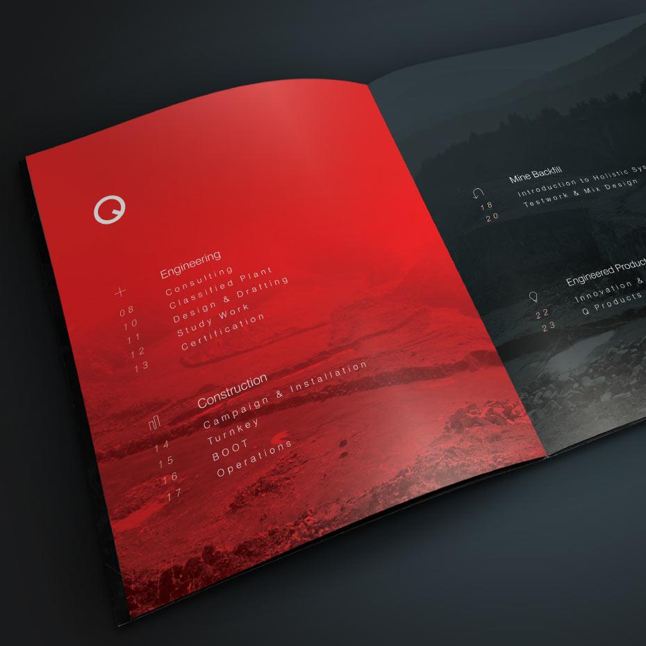 Brand Design Project for Quattro - Catalogue Design