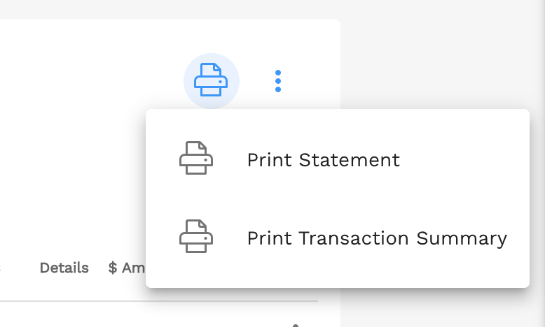 Step 1. Click the print icon
