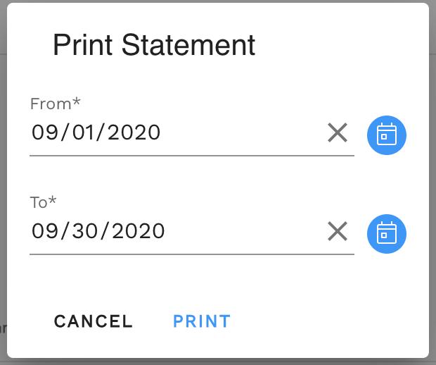 Step 2. Select desired date range