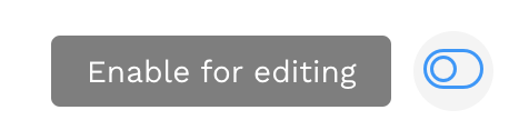 Enable Editing Button