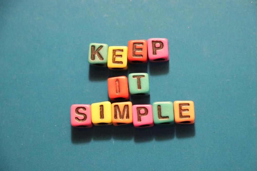 Leef eenvoudig!