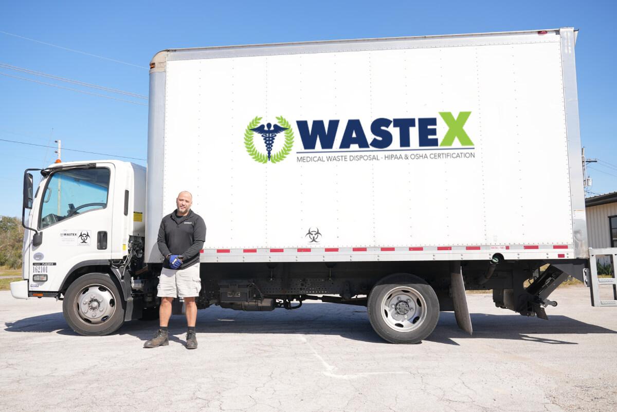 MedWasteX Truck