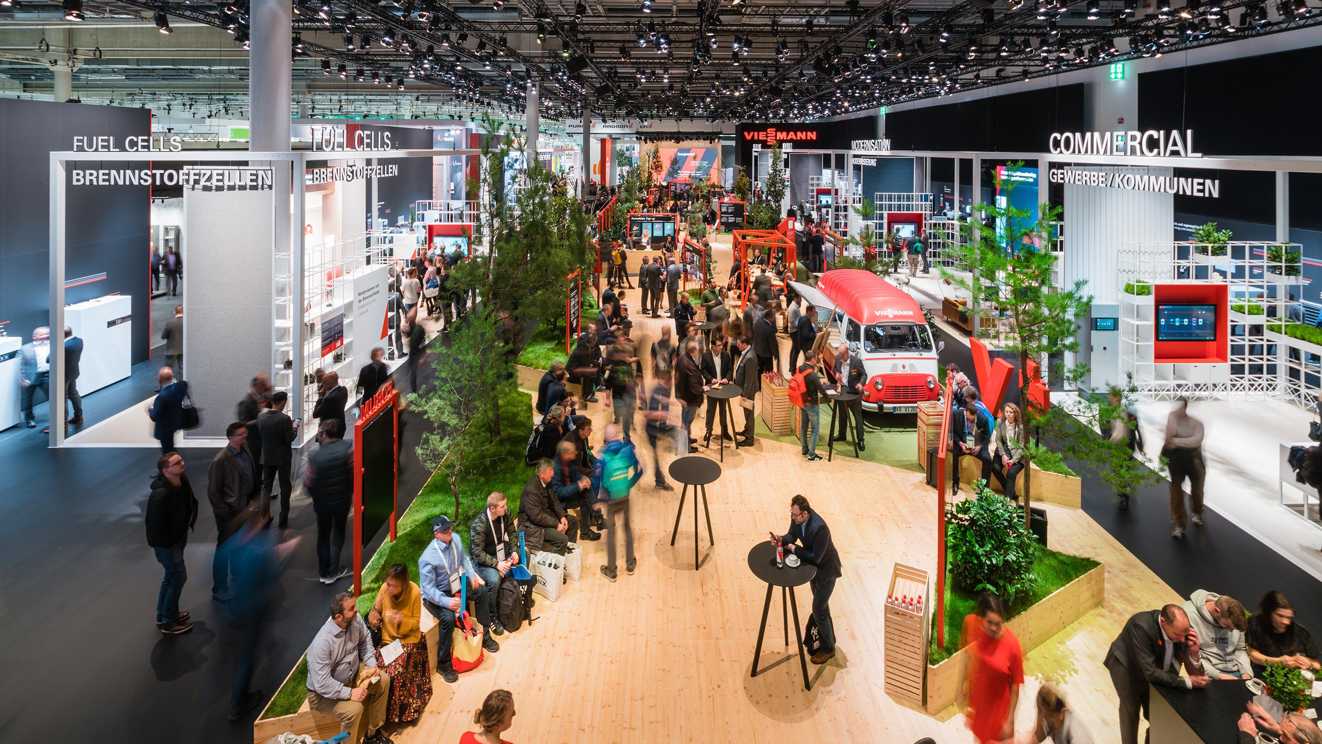 Partnership Lane von Viessmann auf der ISH 2019