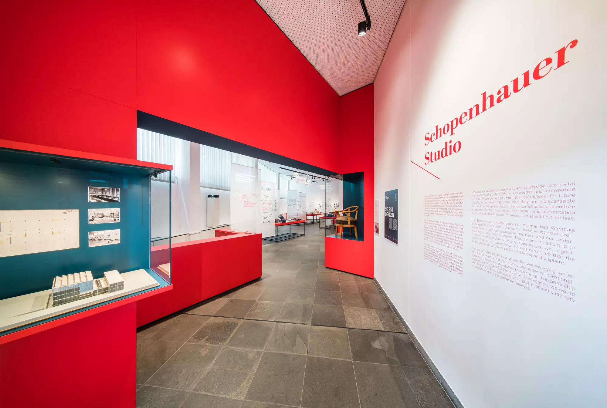Anniversary exhibitions and the Schopenhauer Studio