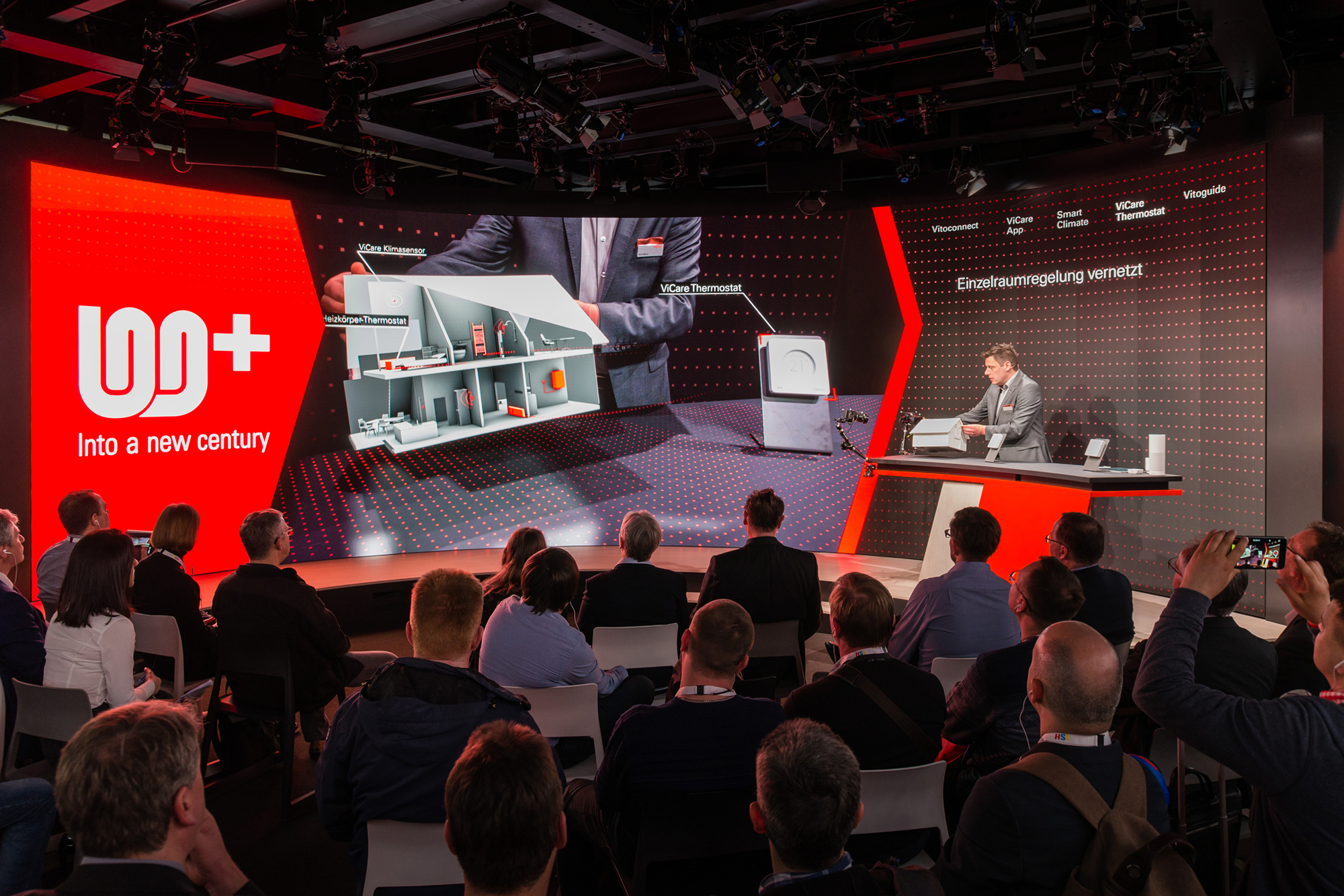 Customer Journey for Viessmann at the ISH 2017