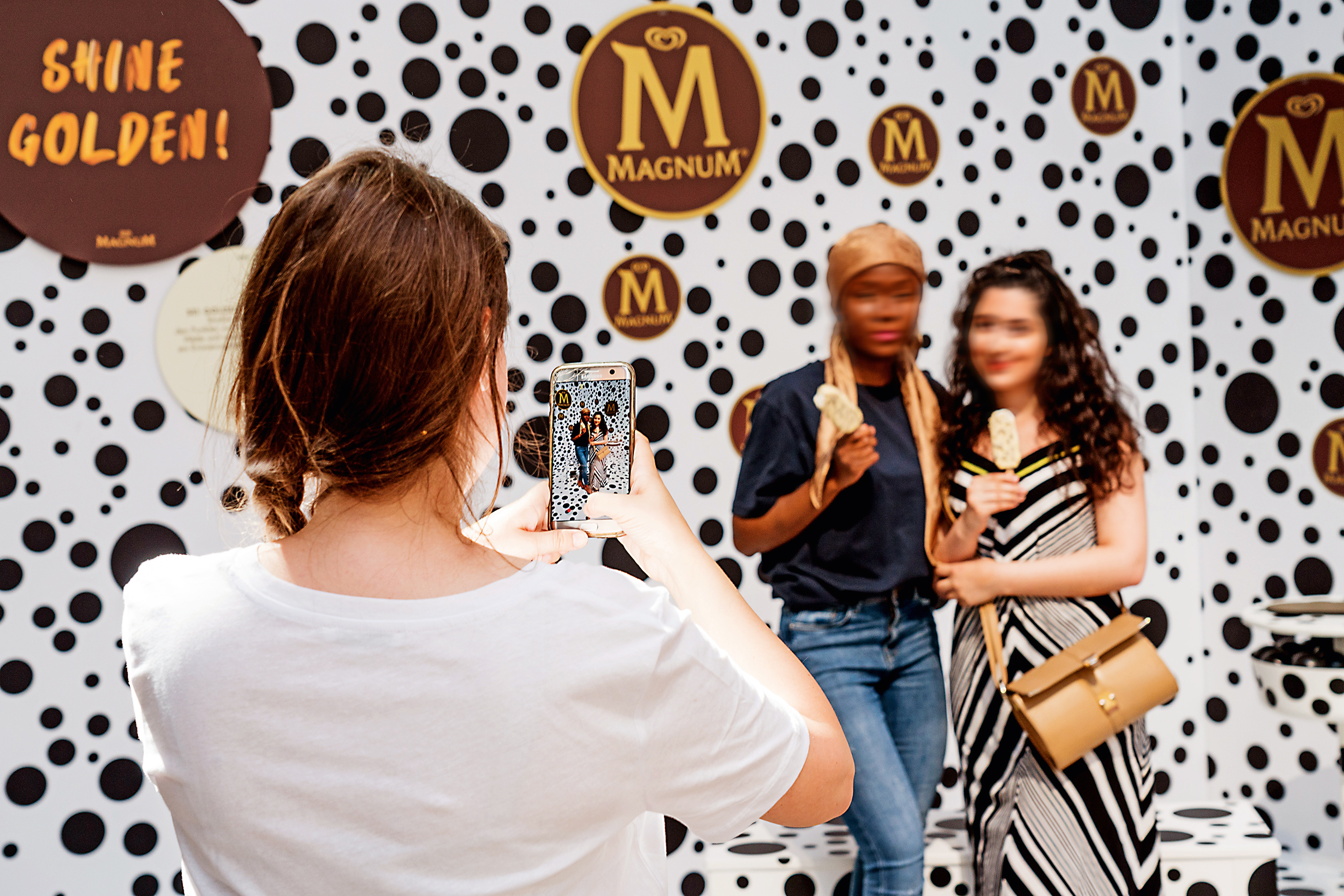 House of Play: an interactive pop-up parcours for Magnum