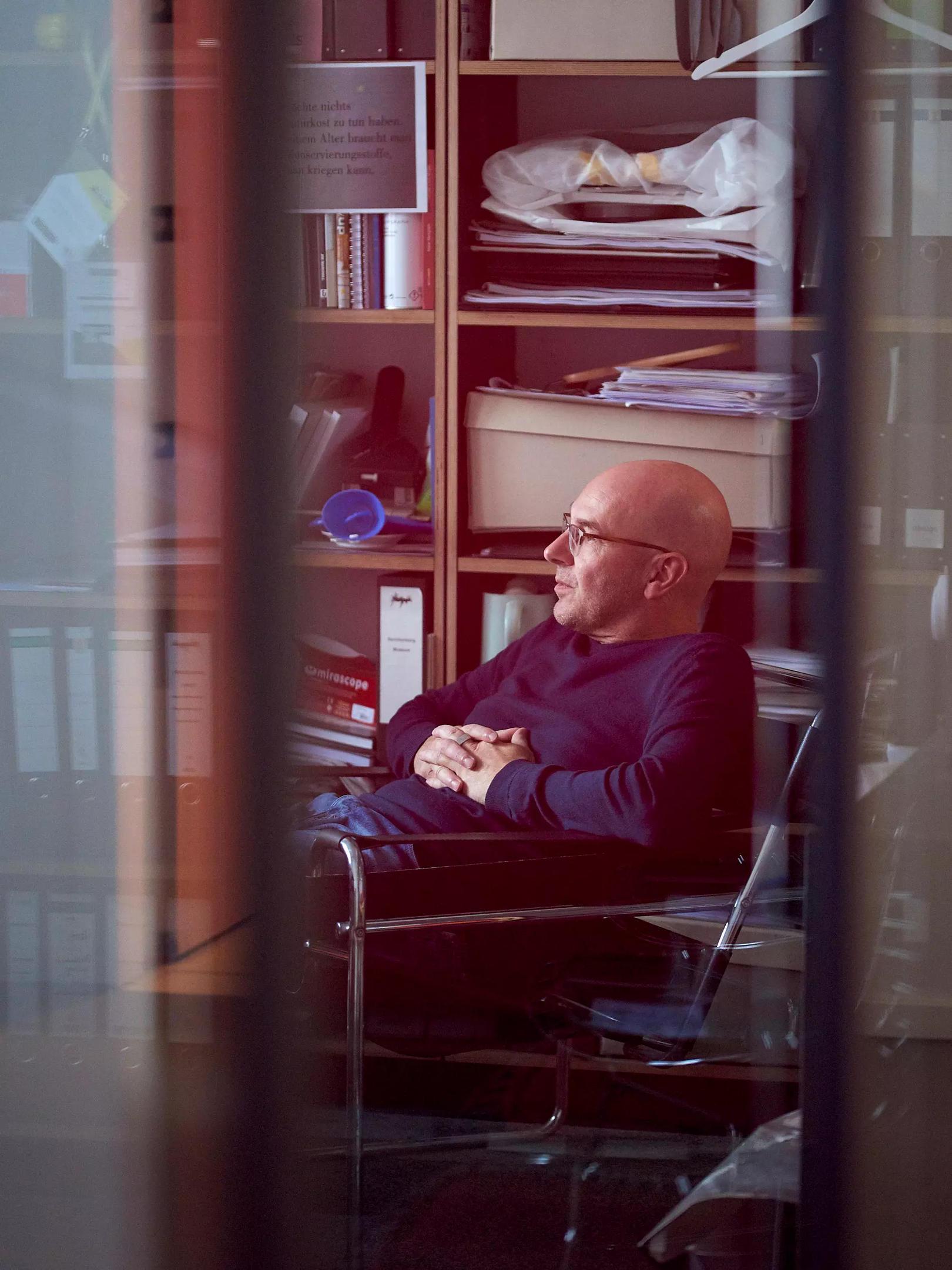 Atelieratmosphäre Tom Schubert