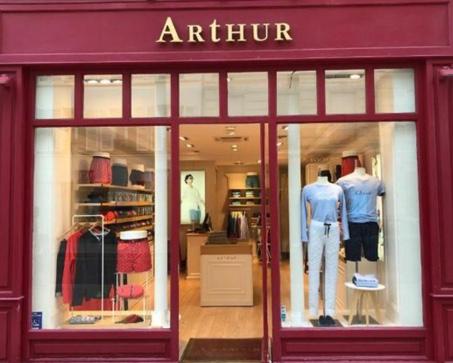 Une boutique Arthur quelque part en France
